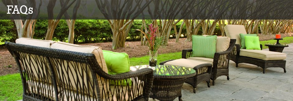 FAQs - Discount Patio Furniture